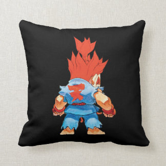 Super Puzzle Fighter II Turbo Akuma Throw Pillow