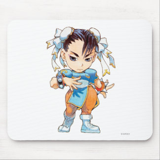 Super Puzzle Fighter II Turbo Chun-Li Mouse Pad