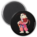 Super Puzzle Fighter II Turbo Dan 2 Inch Round Magnet
