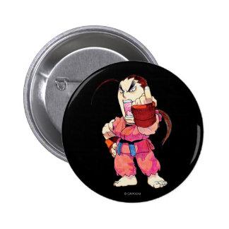 Super Puzzle Fighter II Turbo Dan Pinback Button