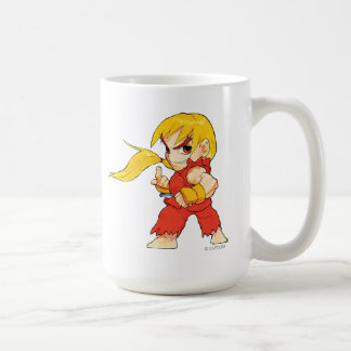 Super Puzzle Fighter II Turbo Ken Coffee Mug