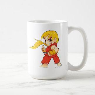 Super Puzzle Fighter II Turbo Ken Coffee Mug