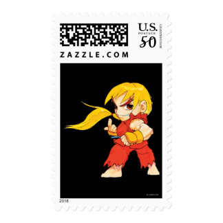 Super Puzzle Fighter II Turbo Ken Postage