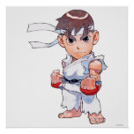 Super Puzzle Fighter II Turbo Ryu Poster
