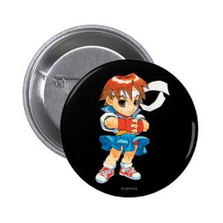 Super Puzzle Fighter II Turbo Sakura 2 Button