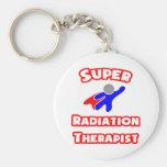 Super Radiation Therapist Basic Round Button Keychain