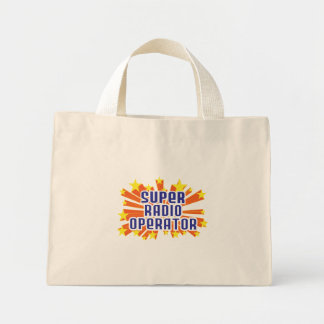 Super Radio Operator Canvas Bag