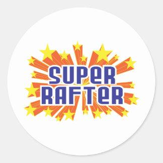 Super Rafter Classic Round Sticker