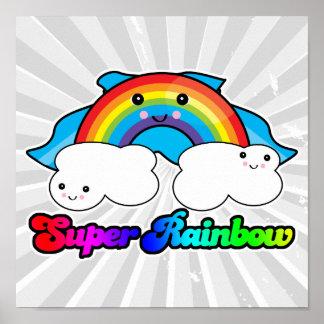 super rainbow print