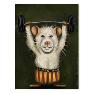 Super Rat Postcards