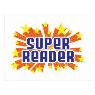 Super Reader Postcard