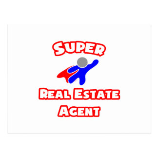 Super Real Estate Agent Postcard