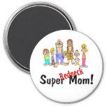 Super Redneck Mom Magnet
