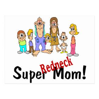 Super Redneck Mom Post Cards