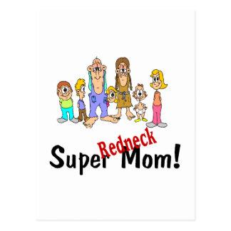 Super Redneck Mom Postcard