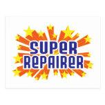 Super Repairer Postcard
