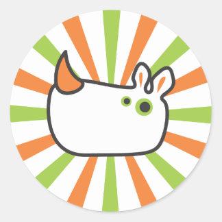 Super Rhino Sticker
