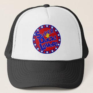 SUPER RUBBER DUCKIE LOVER HEARTS STARS TRUCKER HAT