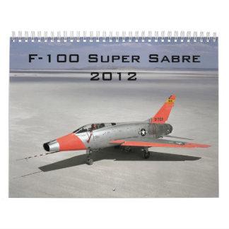 Super Sabre Calendar