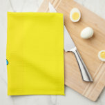 """Super Sad Crying Face Emoji Kitchen Towel<br><div class=""""desc"""">This sad little emoji face is having a bad day.  Crying face with a bright yellow background.</div>"""