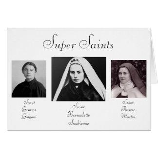 Super Saints Stationery Note Card
