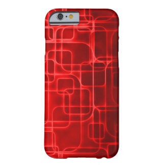 Super Saiyan Red Power Abstract Art Barely There iPhone 6 Case