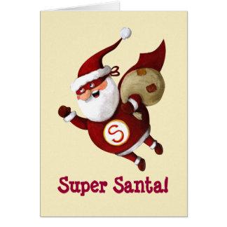 Super Santa Claus Card