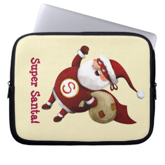 Super Santa Claus Computer Sleeves