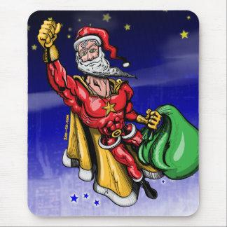 Super Santa Claus Mouse Pad