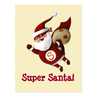 Super Santa Claus Postcards