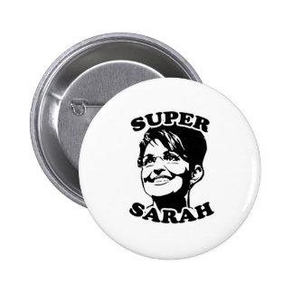 Super Sarah Pinback Button