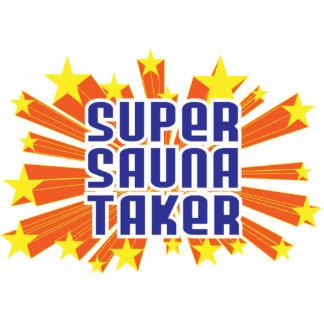 Super Sauna Taker Photo Sculpture