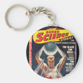 Super Science Stories v05 n01 (1949-01.Fictioneers Basic Round Button Keychain