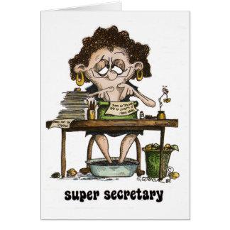 super secretary card