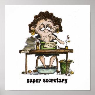 super secretary poster