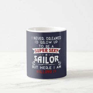 Super Sexy Sailor Coffee Mug