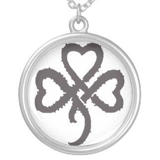 Super Shamrock - Black Necklace