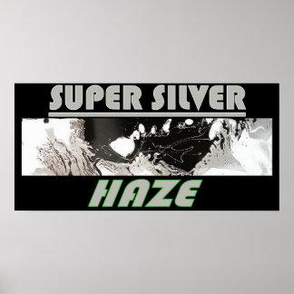 SUPER SILVER HAZE POSTER