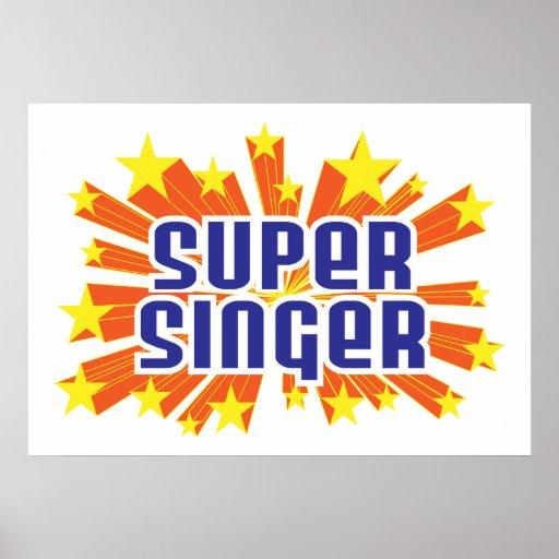 Super Singer Poster