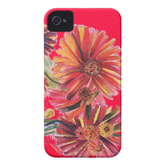 Super Size Red Daisy IPhone case Case-Mate iPhone 4 Cases