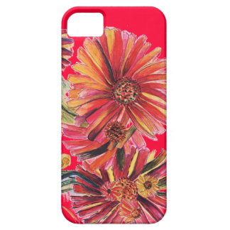 Super Size Red Daisy IPhone case iPhone 5 Cases