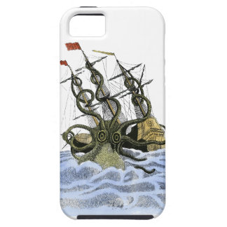 Super Sized Sushi Color Kraken iPhone Case iPhone 5 Cases