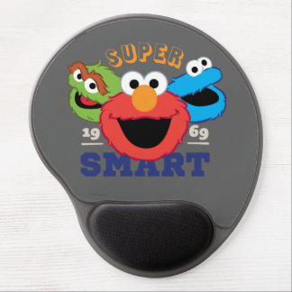 Super Smart Characters Gel Mouse Pad