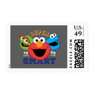 Super Smart Characters Postage