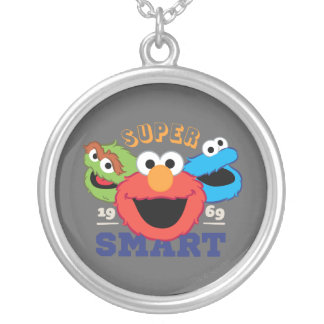 Super Smart Characters Silver Plated Necklace