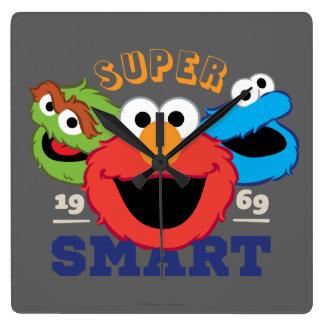Super Smart Characters Square Wall Clock