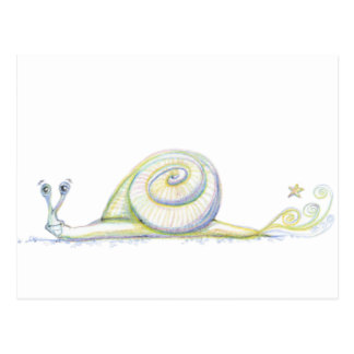 Super Snail Post Cards