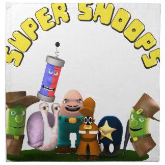 Super Snoops Jr. Detectives Cloth Napkin