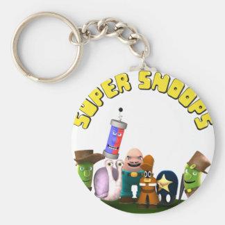 Super Snoops Jr. Detectives Keychain