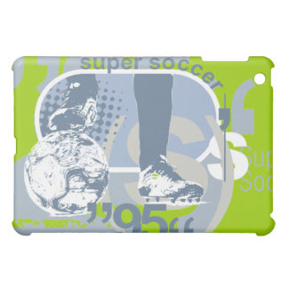 Super Soccer Green  iPad Mini Cover